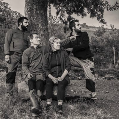 Iban, Michel, Thérèse and Teo Riouspeyrous
