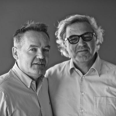 Paolo Tiefenthaler and Antonio Santarelli
