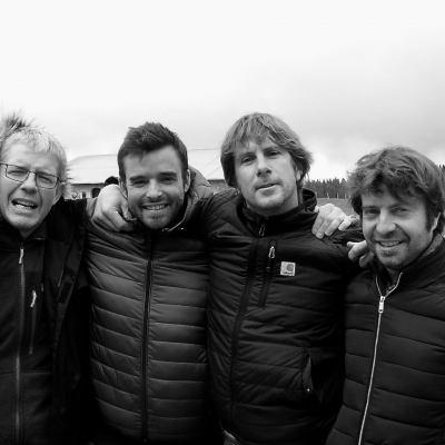 Bruno Verret, Fabien Espana, Damien Delechéneau and Thomas Pico